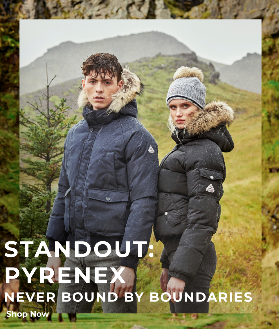 Stand Out: Pyrenex Never bound by boundaries