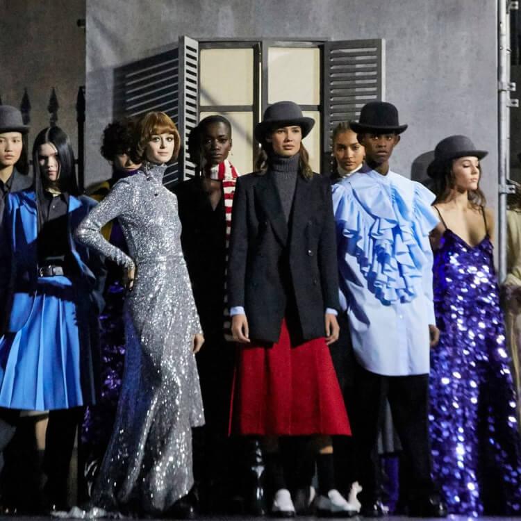 Paris Fashion Week Men's: AMI Paris AW20 Show